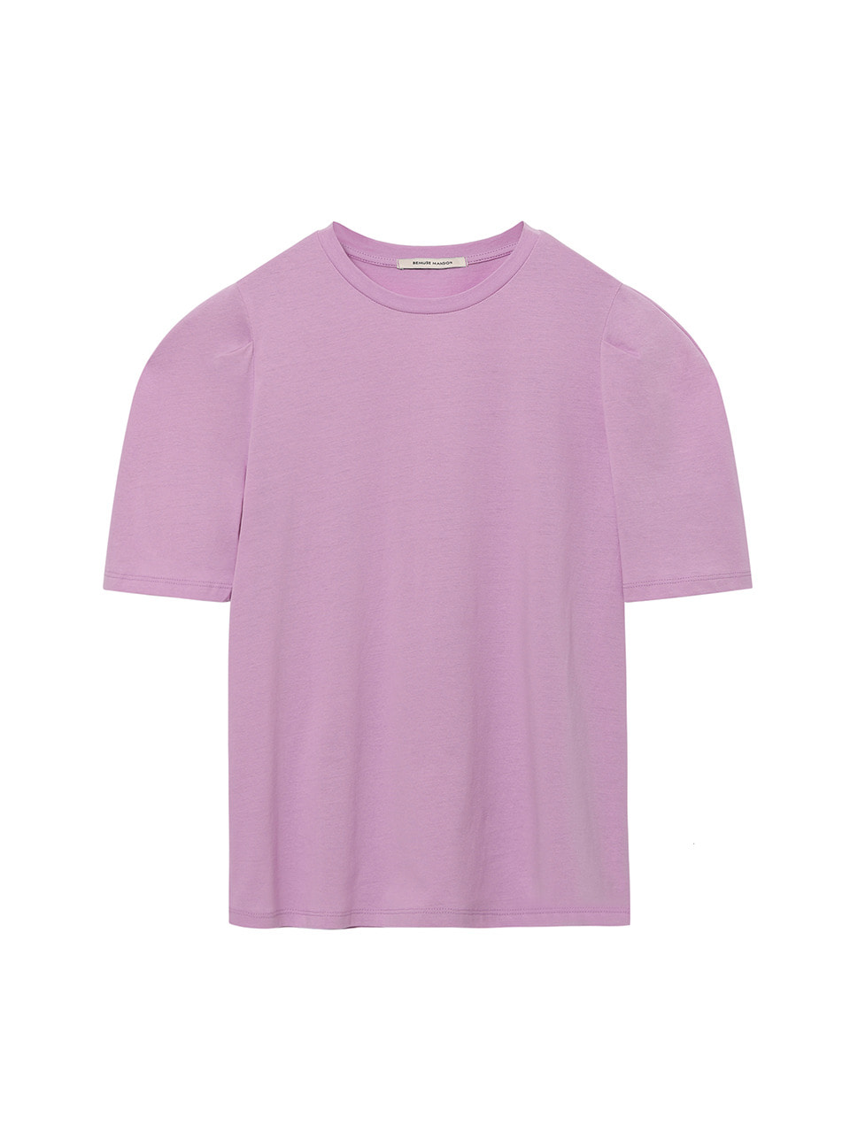 Summer curved tee - Purple