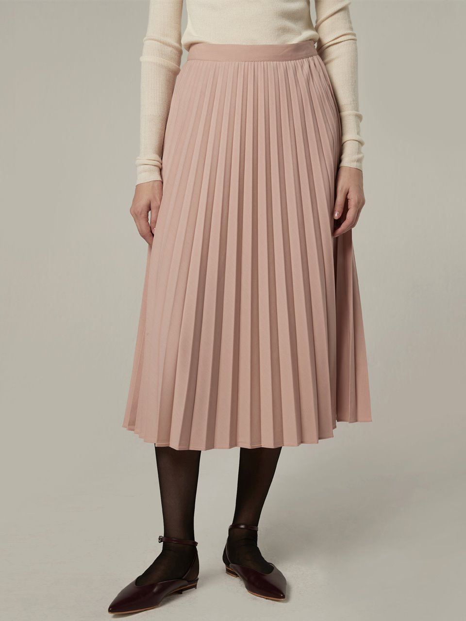 Bemuse pleats skirt - Indi pink