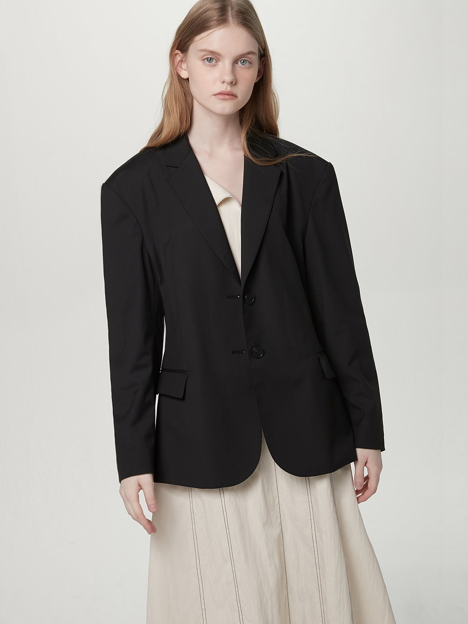 Single suit jacket - Black